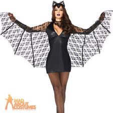 Leg Avenue Moonlight Bat Costume (m Black) Size M Color Black 8524102001
