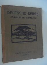 @@ Deutsche Berge Pöhlberg und Annaberg-Buchholz 1925 Chemnitz/Werbung/SELTEN!