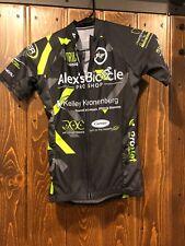 Ladies Louis Garneau Jersey - Sponsored by Alex s Bicycles - Black   Green  - XS c68dcebd3