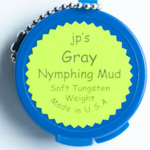 JP's Nymphing Mud -Soft Tungsten Weight - Gray