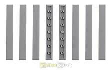 8x lego ® 1x8 loseta 4162 gris claro nuevo light bluish Grey tile 4211481