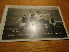 More details for postcard :  david jack (bolton wanderers)  v  west ham united 1923 f a cup final