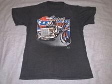 Rare VTG 1985 3D Emblem Going Home Trucker Shirt size S