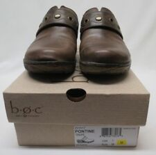 Boc Women's Clogs/Slides/Slip on Shoes Pontine Brown USA 7* Euro 38 Leather