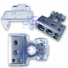 Negative Battery Terminal Power Distribution Connector 1/0ga 4ga 8ga Car/boat/RV
