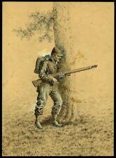 En embuscade -  Jean Achille BRAIL (1842-1911) - Dessin ancien vers 1870