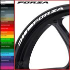 HONDA FORZA Wheel Rim Stickers Decals - 20 Colors Available - 125 300 scooter