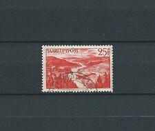 SARRE / SAAR - 1948 YT 9 - POSTE AERIENNE - TIMBRE OBL. / USED