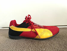 B.U.M. Equipment Red & Yellow Lace Up Sneakers/Size UK7 – ExC