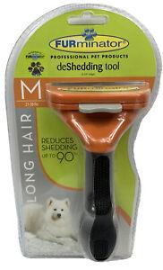 Deshedding Tool Comb Long Hair M 21-50lbs Dogs FURminator (New) Factory Sealed