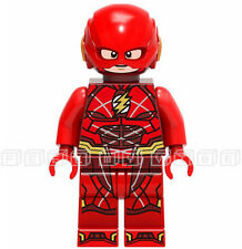 The Flash Minifigure Barry Allen DC Hero Superhero Custom Mini Figures fits lego