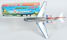 PAN AM BOEING 727 JET AIRPLANE Japan TIN FRICTION TOY W/ BOX by T.T. VINTAGE
