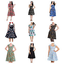 Wholesale Mixed Vintage 50s Job Lot 10 HELL BUNNY Dresses XS S M L XL #4