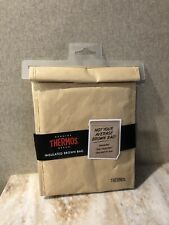 New Thermos Insulated Brown Bag