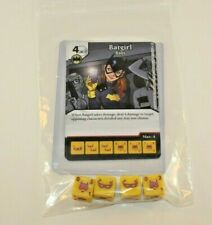 DC Dice Masters World's Finest BATGIRL Set SUPER Ultra RARE Uncommon CUSR 4 Dice