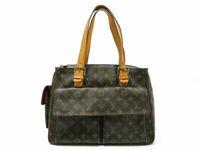 Auth LOUIS VUITTON Monogram Multripri Cite M51162 Hand Bag PVC Leather 84488