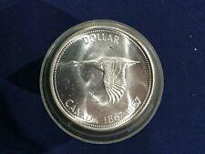 1967 Canada Silver Dollar Centennial Commemorative Goose BU Roll of 20 E7203