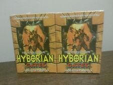 1995 CARDZ HYBORIAN GATES LIMITED ED STARTER DECK X 2 SEALED NEW BORIS VALLEJO