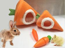 Carrot Hammock Ferret Rabbit Guinea Pig Rat Hamster Squirrel Mice Bed Toy House L Orange