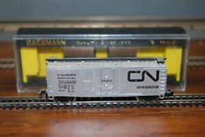 Bachmann N Scale Canadian National 41' Mechanical Steel Reefer Refrigerator Car