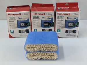 Honeywell Filters HC888 3 BOXES C Humidifier Wicking 6 Filters Total New 1192