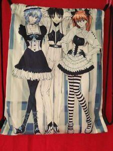 Neon Genesis Evangelion! Anime! Drawstring Bag school bag travel! UK Seller!