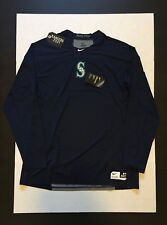 Nike Pro Hypercool Seattle Mariners Fitted L/S Shirt  876292 Mens Size XL