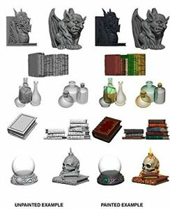 Wizkids Unpainted Minis Wv5 Wizards Room NEW miniatures Dungeons & Dragons DND