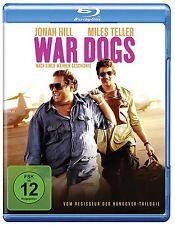 War Dogs [Blu-ray] Jonah Hill, Miles Teller Neu!