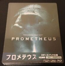 PROMETHEUS Blu-Ray SteelBook Japan Exclusive Limited Ed 1/2000 New Sold Out Rare