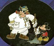 Disney Pin: DCL - A Villainous Pin Voyage 2004 - Gift Item - Mickey Mouse & Pete