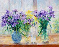 "Art Print Still life Flower Oil painting Picture Printed on canvas 16""x20"" P355"
