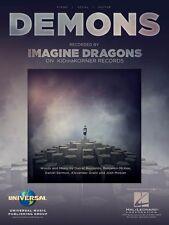 Demons Sheet Music Piano Vocal Imagine Dragons NEW 000124234