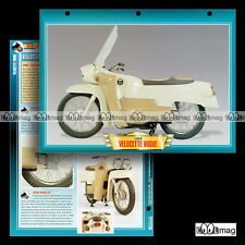 #049.05 Fiche Moto VELOCETTE 200 LE VOGUE 1964 Motorcycle Card