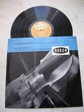 PAGANINI Violinkonzerte Nr.1 D-dur,op.6  RICCI *GERMAN 1st PRESS ORANGE DECCA*
