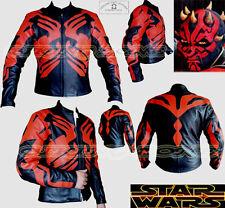 Star Wars Alta Calidad Hombre Ce Blindado Moto/Chaqueta de cuero la motocicleta