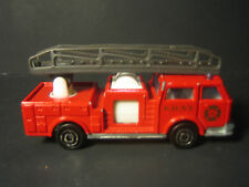 Majorette Pompier Fire Truck No. 207 Red With Grey Ladder