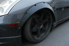 Universal Fender Flares JDMoverwide body wheel arches 2 inch+ 4pcs Flexible PP