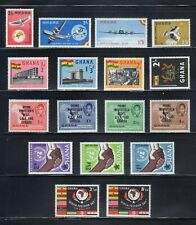 Ghana--MNH--nice group of mint never hinged stamps-5 sets