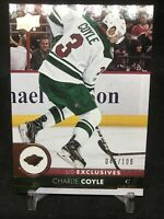 2017-18 Upper Deck UD Exclusives #93 Charlie Coyle Minnesota Wild Boston Bruins
