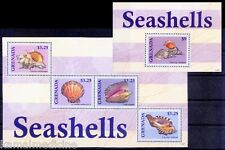 Grenada 2013 MNH MS+SS, Shells, Marine Life (- E4)