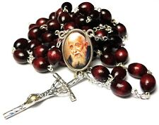 large Relic Rosary 3rd class Leopold Mandic patron disabled handicaped cheery