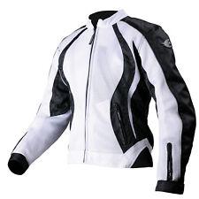 New AGVsport Xena Ladies Textile Mesh Motorcycle Jacket CE Armour