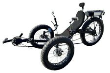Fat tire recumbent electric tricycles, electric trike, motor trike with FREE S&H