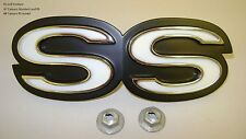SS Grill Emblem for 67 Std and RS models also 68 Camaro w/ RS Grill