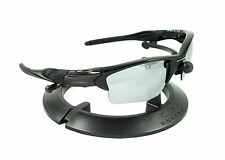 OAKLEY HALF JACKET 2.0 XL POLISHED BLACK FRAME / REVANT TITANIUM CUSTOM LENSES