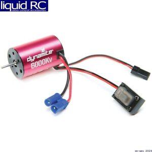 Losi DYNS0501 Brushless Motor/ESC 2n1 Combo 6000Kv: Mini-T 2.0