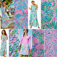"""Lilly Pulitzer Polyester Lileeze Fabric BTY 36"""" X 57"""""""