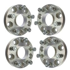 "(4) 1"" Hubcentric 5x110 Wheel Spacers Fits 2015-2018 Jeep Cherokee Renegade"