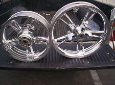 harley streetglide enforcer wheels FLHX  POLISHED FINISH